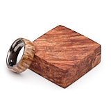 Turners Choice Stabilized Ring Blank Maple Burl