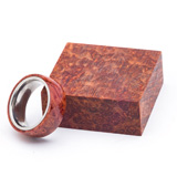Turners Choice Stabilized Ring Blank Redwood Burl