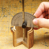 Turners Select Protractor/Depth Gauge