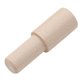 Turners Select Silicone Bottle Stopper Maple Dowel