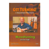 Tim Yoder Get Turning! 4 Beginners Projects DVD by Tim Yoder