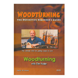 Tim Yoder Woodturning: The Definitive Beginner's Guide DVD by Tim Yoder