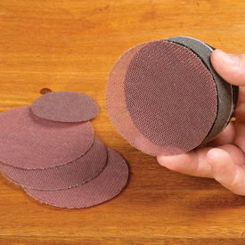 Abranet 3 Inch Sanding Screen Disc - 5 Pack