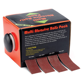 Apprentice Multi-Pack Abrasives 4  Roll Set