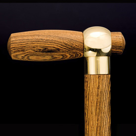 Artisan Brass Cane Handle Coupler