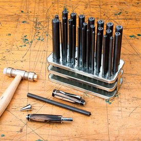 Apprentice Pen Disassembly Punch 28 Piece Set
