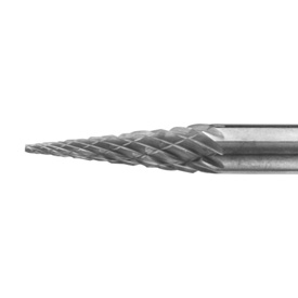 Burr Monster Cone Double Cut Carbide Burr