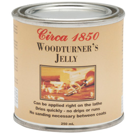 Circa 1850 Woodturner's Jelly