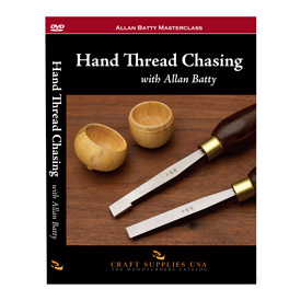 Craft Supplies USA Hand Thread Chasing by Allan Batty DVD