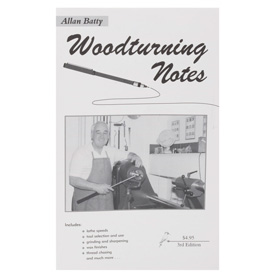 Woodturning Notes