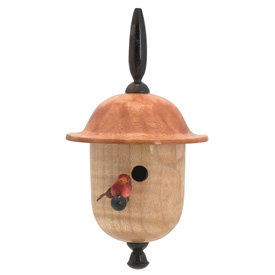 Dale Nish Signature Bell Birdhouse Ornament Kit