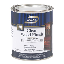 Deft Clear Wood Finish Finishing Craft Supplies Usa