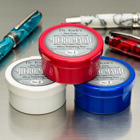 Dr. Kirk's Micro Magic Polishing Wax 3 Piece Set