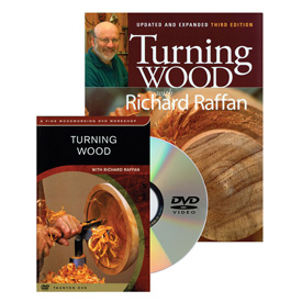 Taunton Press Turning Wood Book & DVD Set
