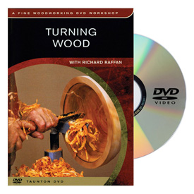 Taunton Press Turning Wood DVD