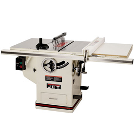 Jet xacta saw deluxe table saw 3 hp 30 fence jtas 10xl30 for 10 jet table saw