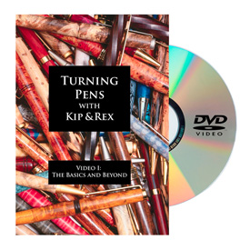 Learning Turning Turning Pens Video 1 - The Basics and Beyond DVD