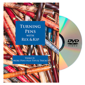 Learning Turning Turning Pens Video 2 - More Pens Plus Tips and Tricks DVD