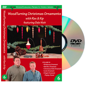 Learning Turning Woodturning Christmas Ornaments Volume 6 DVD