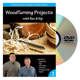 Woodturning Projects Volume 2 DVD