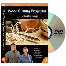 Learning Turning Woodturning Projects Volume 3 DVD