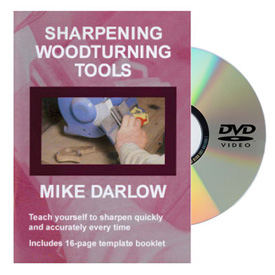 Mike Darlow Sharpening Woodturning Tools DVD