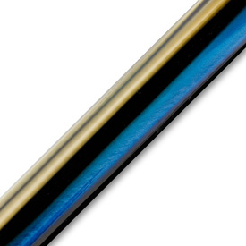 Pen Makers Choice Acrylic Pen Blank Blue Pearl