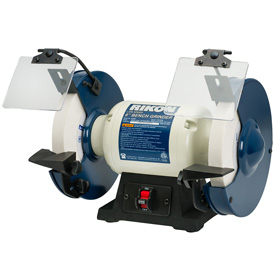 "Rikon 8"" Slow Speed Bench Grinder 1/2 HP"