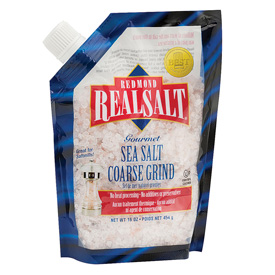Redmond Minerals Natural Sea Salt