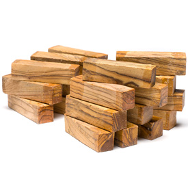 Turners Choice Holy Land Olivewood 1/2 Blanks 1 lb Bag