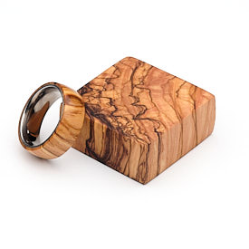 Turners Choice Holy Land Olive Wood Ring Blank