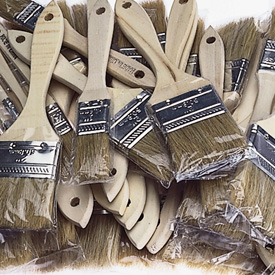 Turners Select Bristle Brushes - 50 Pack