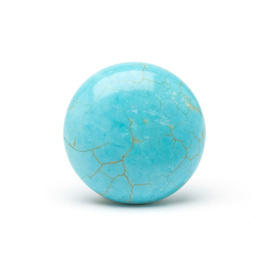 Turners Select Stabilized Turquoise Stone Insert