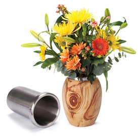 Turners Select Stainless Steel Vase Insert